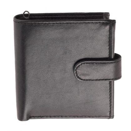 Mens Genuine Leather Compact Wallet