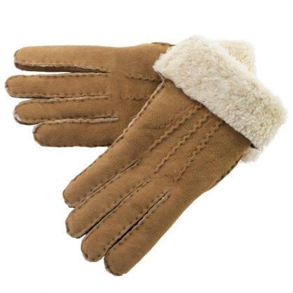 Ladies Hand Sewn Genuine Soft Real Lambskin Gloves