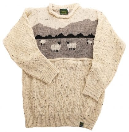 Unisex Adults' Wool Dales Sheep Adult Jumper