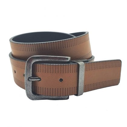 "Unisex Adults' 40mm 1.5"" Reversible Leather Belt"