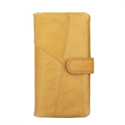 Ladies Luxury Crumble Leather Purse