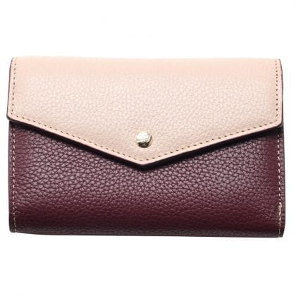 Ladies Luxury Leather Two Tone Purse