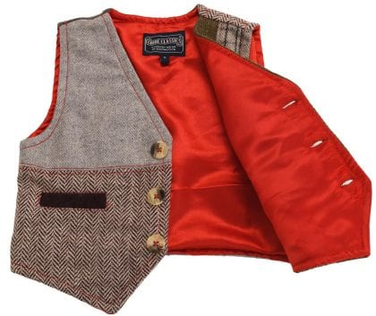Childrens Multi Patch Waist Coat-222282
