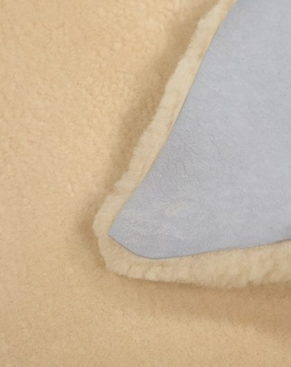 British Premium Quality Medical Sheepskin Rug in Beige-227139