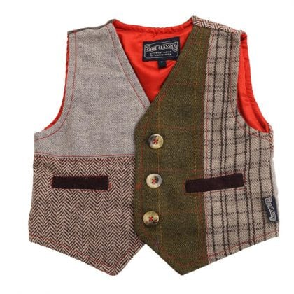Childrens Multi Patch Waist Coat-0