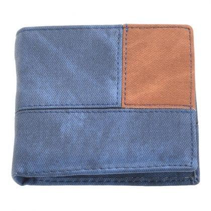 Mens Flip Out Colour Panel Wallet