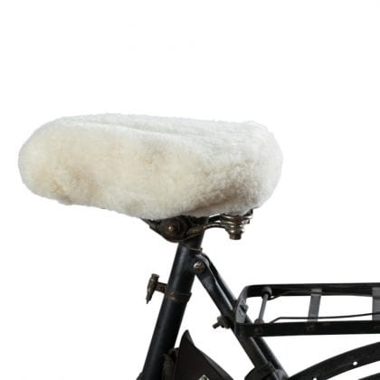 Sheepskin Saddle Cover by Shepherd of Sweden