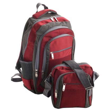 Unisex Adults' Travel Backpack and Messenger Bag-0