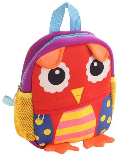 Children's Owl Backpack-0