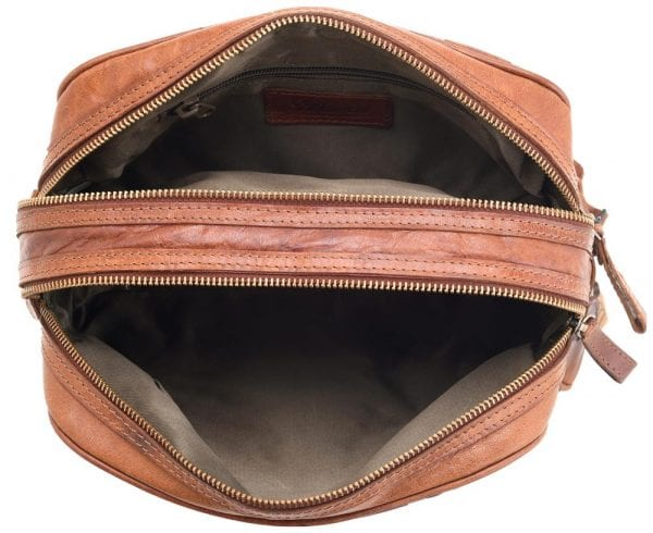 Unisex Adults' Honeydew Leather Toiletry Bag-227168